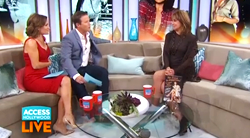 Linda Gray on ACCESS HOLLYWOOD LIVE