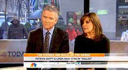 Linda Gray on THE TODAY SHOW